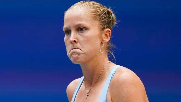 Shelby Rogers says she is most likely to have to deal with death threats following her US Open defeat to Emma Raducanu