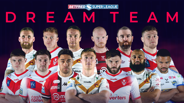 13 players named in the 2021 Super League Dream Team