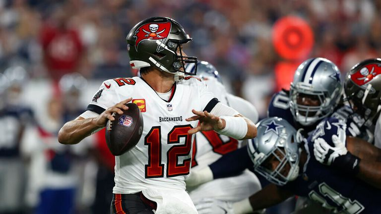 Highlights of the 2021 NFL season opener between the Dallas Cowboys and the Tampa Bay Buccaneers