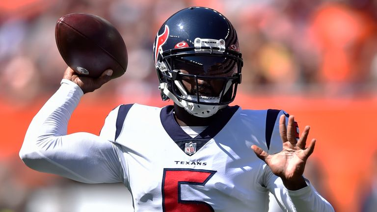 Deshaun Watson to remain inactive after Tyrod Taylor's exclusion from Houston Texans clash with Carolina Panthers |  NFL News