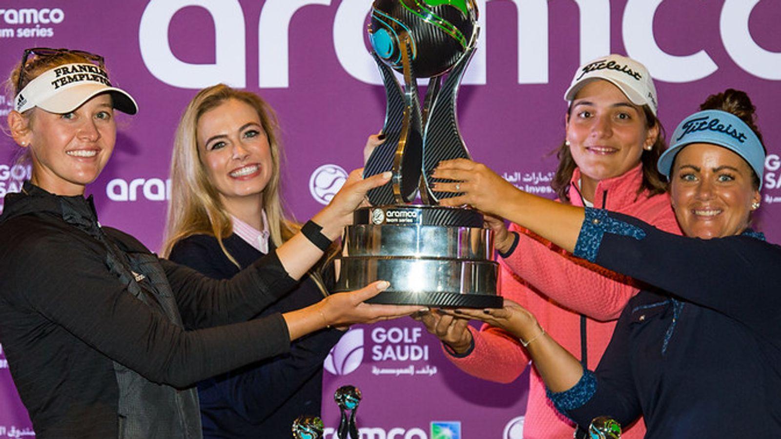 Aramco Team Series: Jessica Korda wins team event, Charley Hull claims individual crown