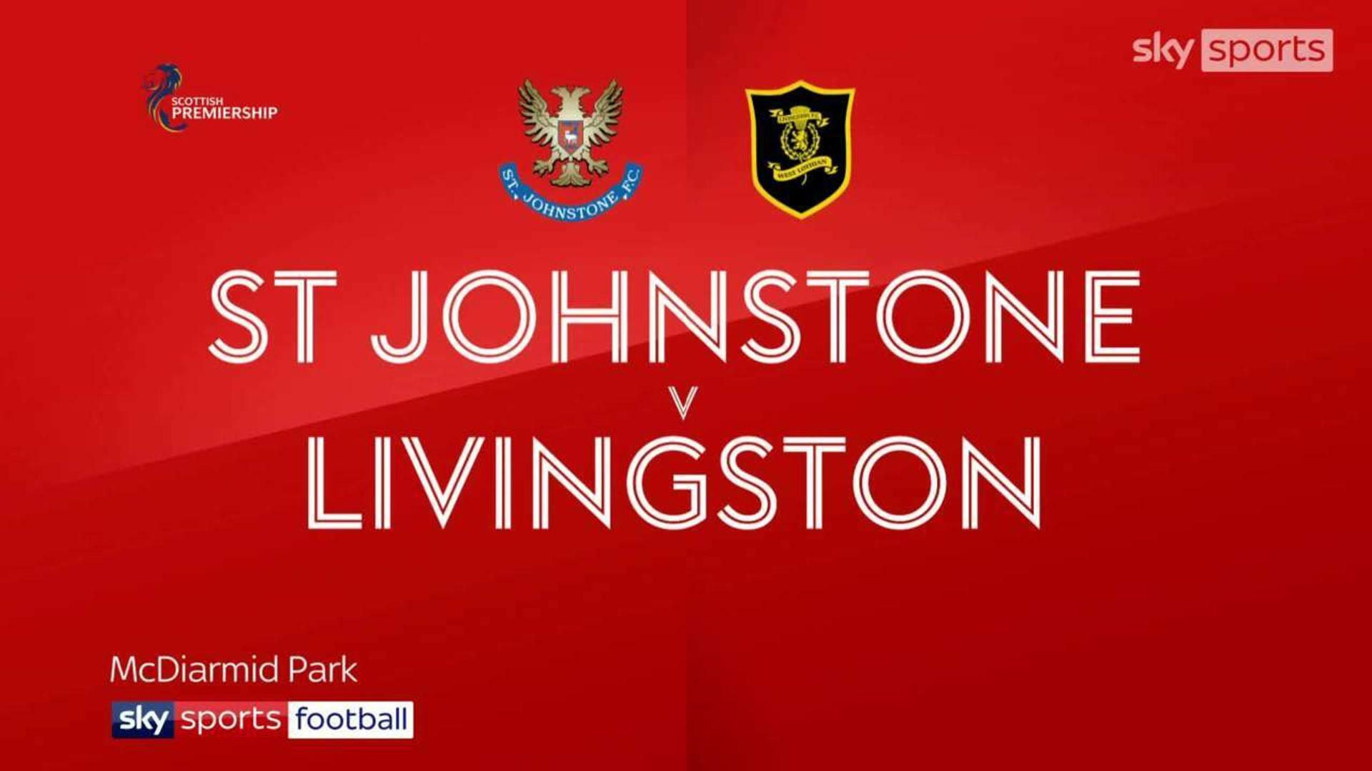 St. Johnstone 0-3 Livingston