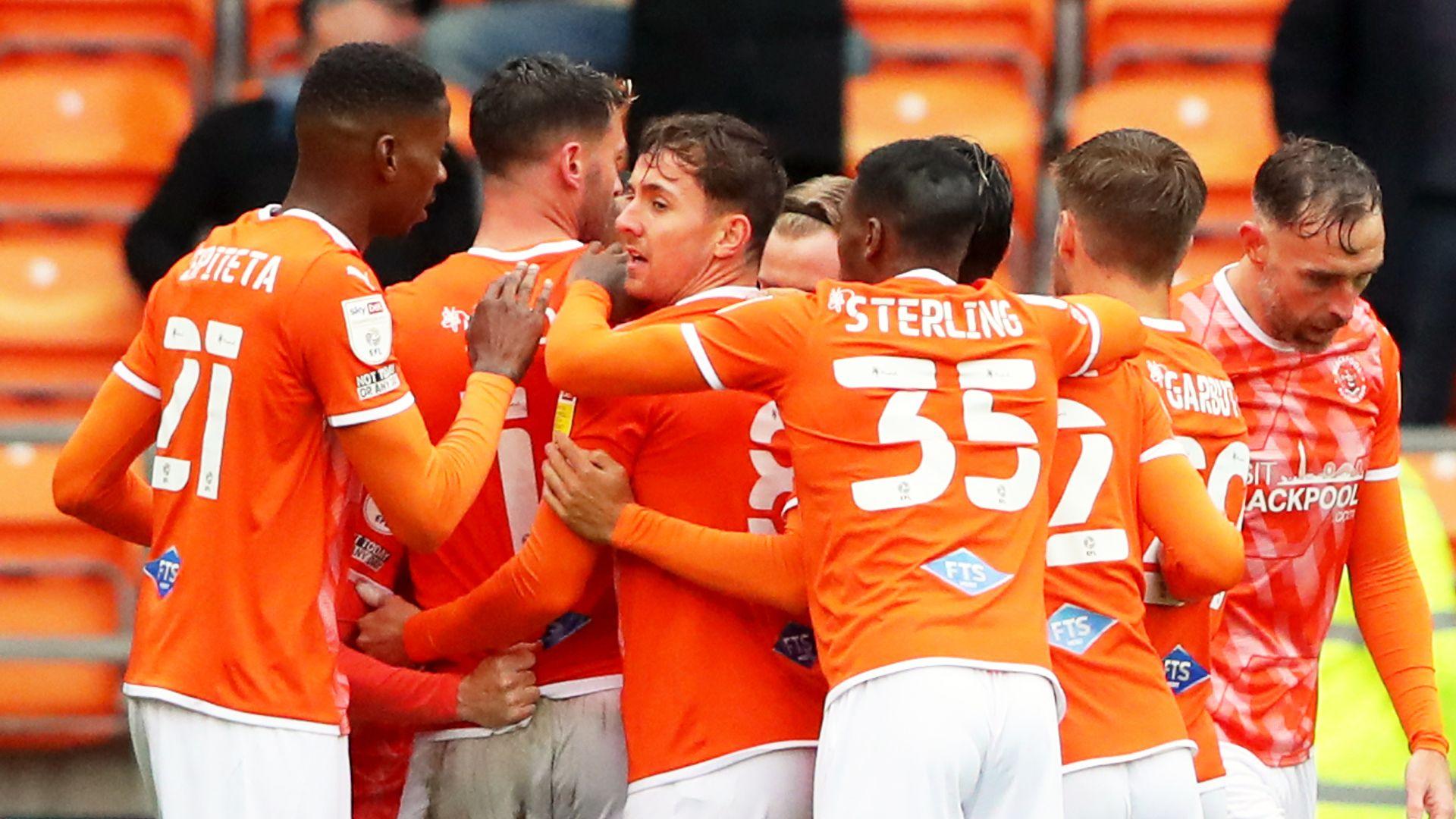 Blackpool hold off Blackburn to take derby spoils