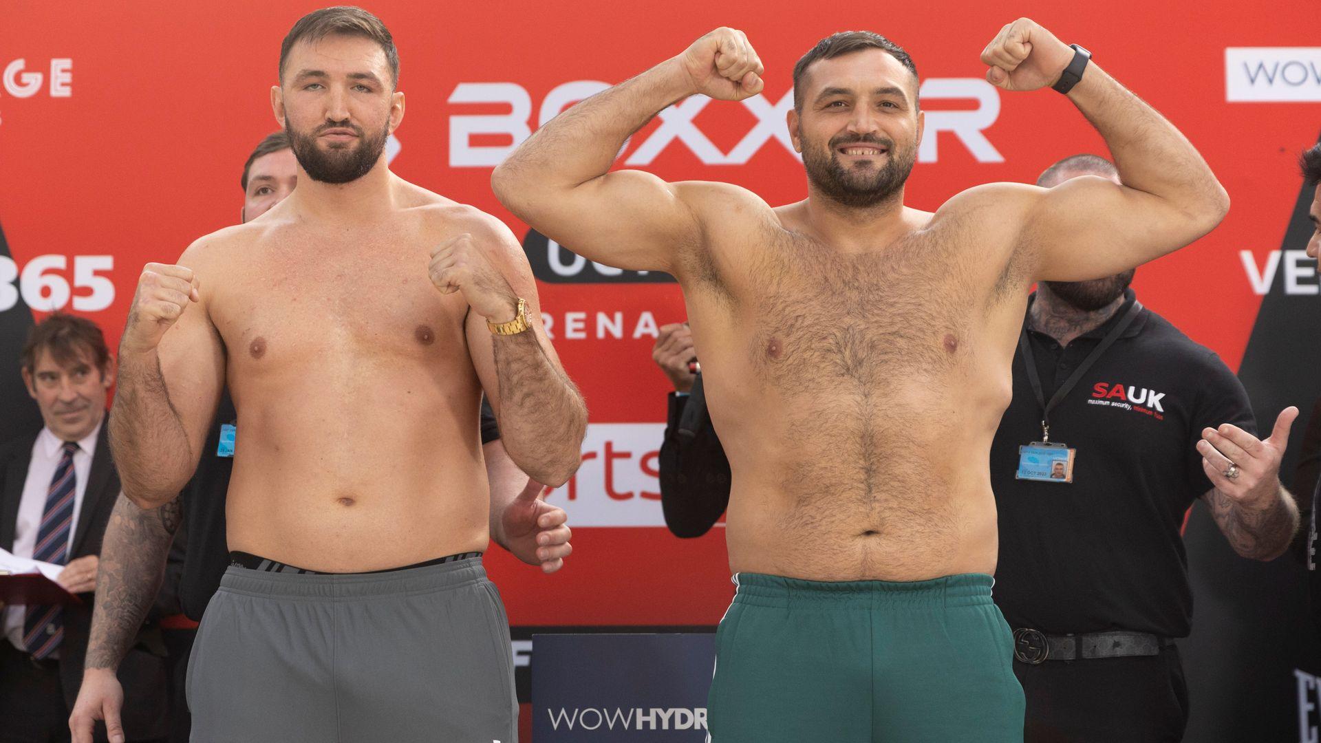 LIVE STREAM: Hughie Fury's heavyweight fight