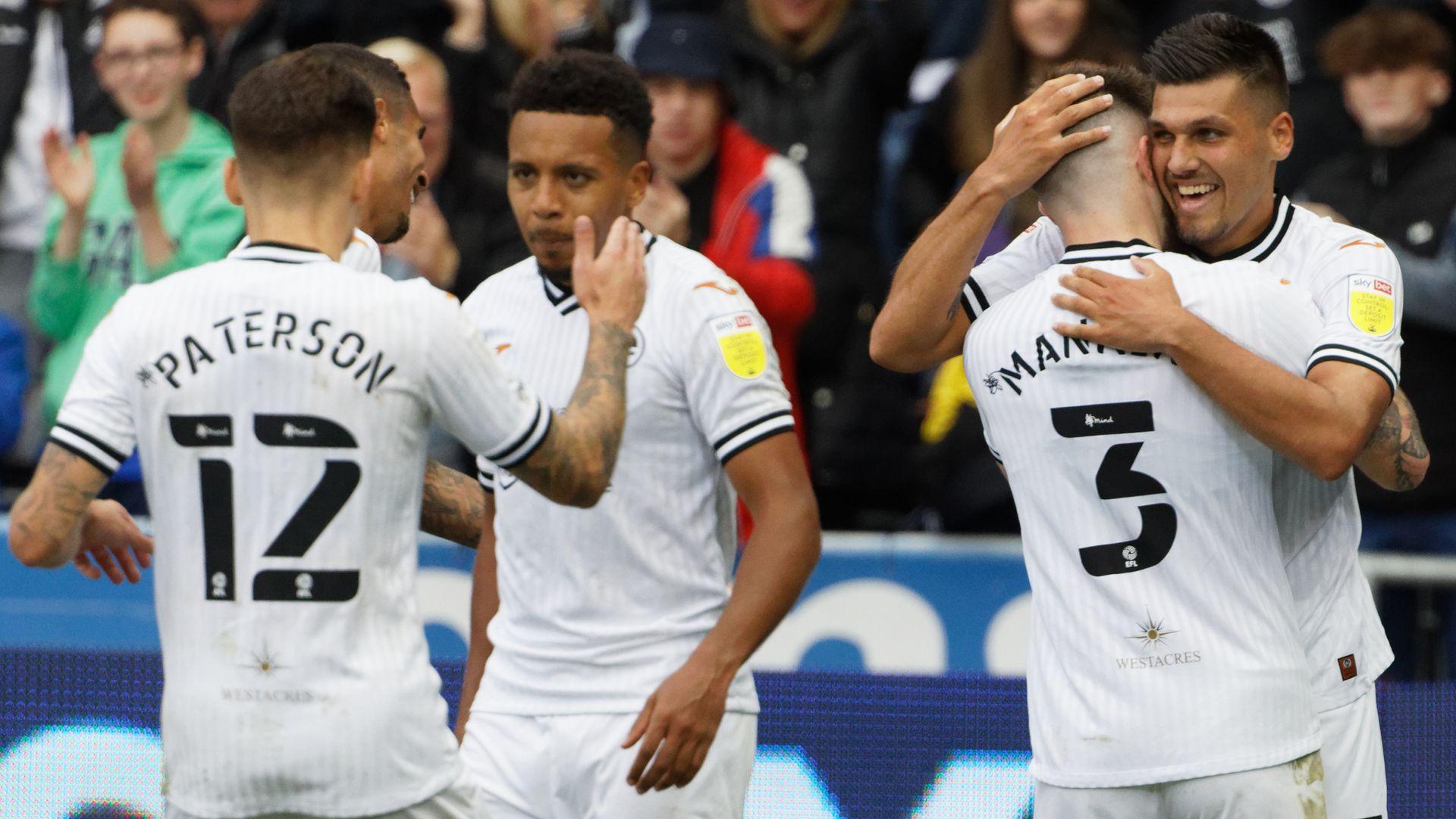 Swansea 3-0 Cardiff highlights