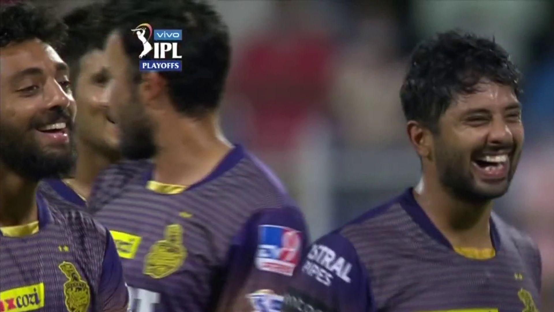 Morgan's Kolkata into IPL final despite dramatic collapse