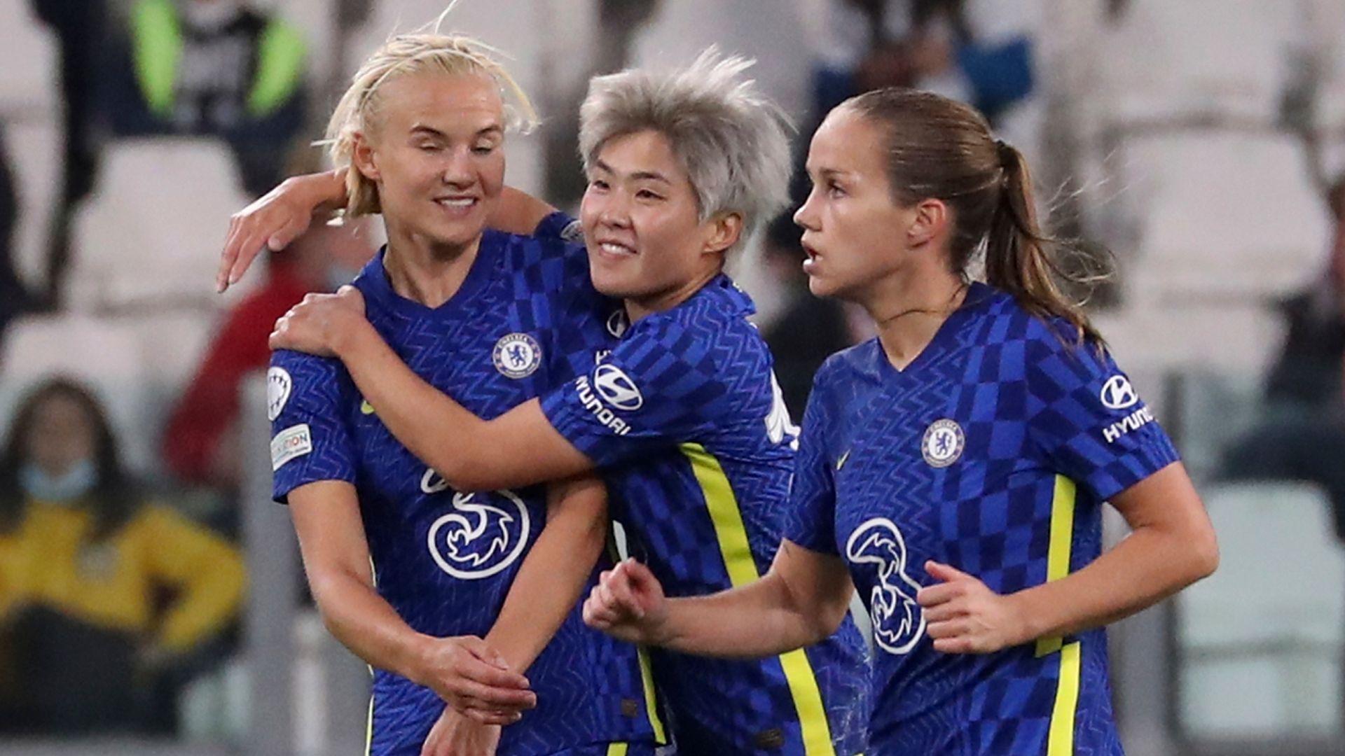Chelsea Women beat Juventus Women LIVE!