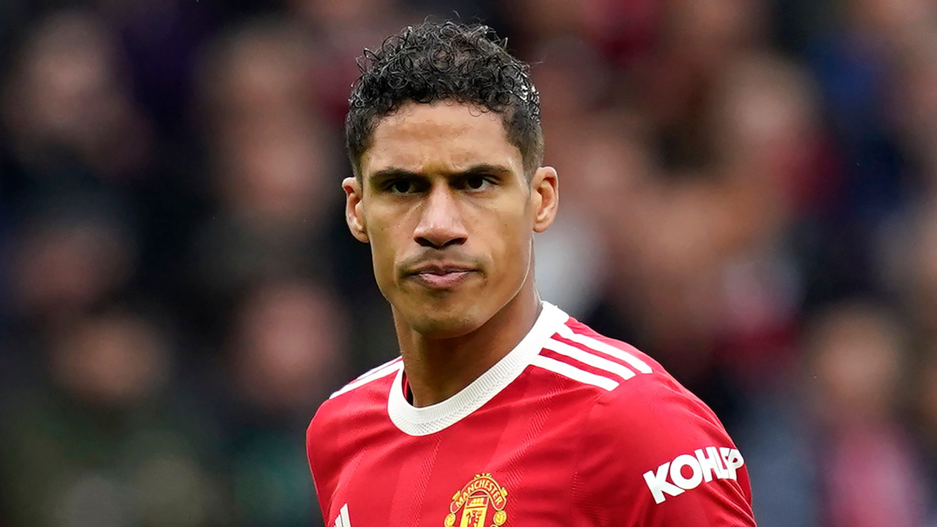 Varane out for 'few weeks' with groin injury