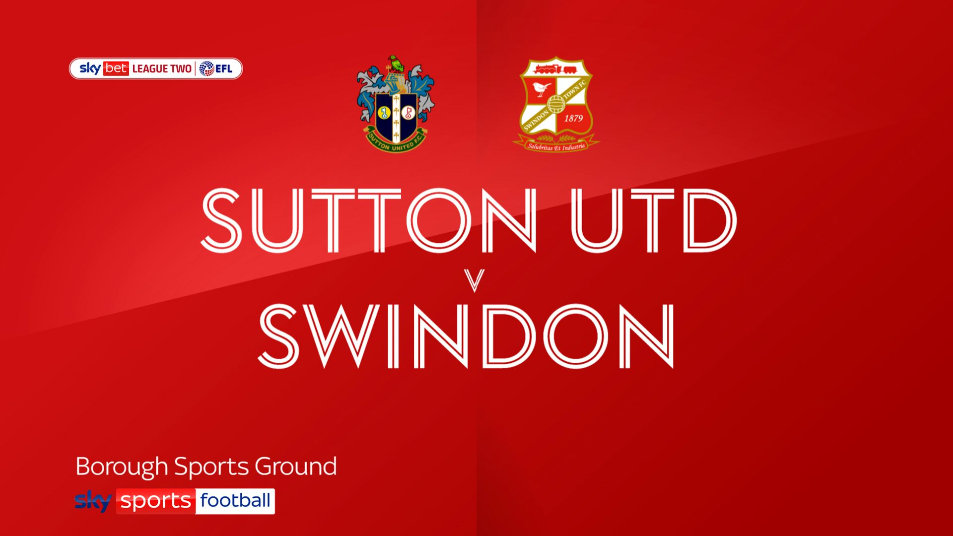 Swindon see off Sutton to move third