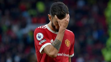 Image from Ole Gunnar Solskjaer has no case for the defence as Man Utd suffer five-goal humiliation against Liverpool