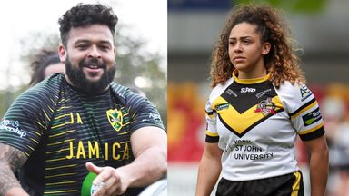 Image from Rugby league siblings Savannah and Jordan Andrade set to take on the world