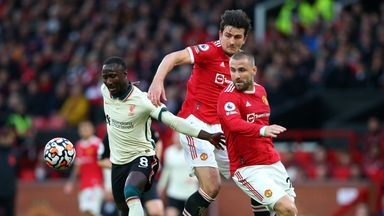 Image from Manchester United 0-5 Liverpool: Player ratings as Naby Keita and Mohamed Salah star amid gifts from Harry Maguire, Luke Shaw and co