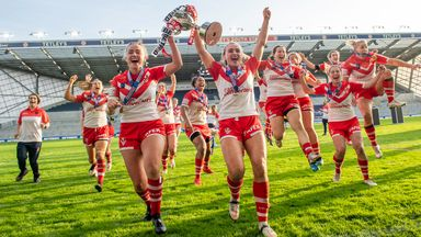 Image from Women's Super League: Treble winners and record crowd for Grand Final highlight competition's rise