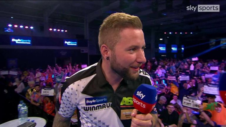 Danny Noppert said he's delighted that he's finally playing to his potential on stage after beating Ian White 3-1 in the quarter-final of the World Grand Prix.
