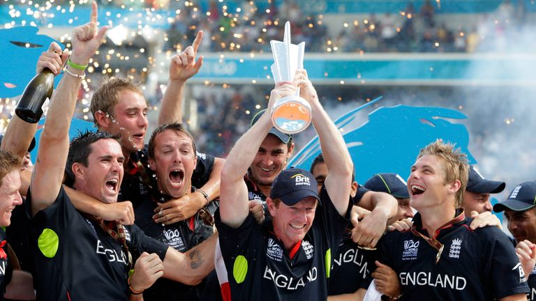 England won their only T20 World Cup title to date in the West Indies in 2010