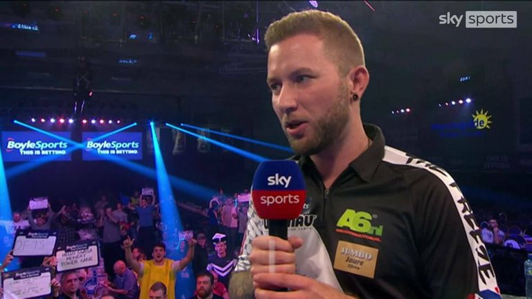 On a night of upsets Danny Noppert spoke about his staggering victory against the five-time winner of the event