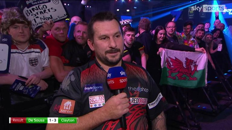 Clayton gave his reaction after defeating Jose de Sousa in a high-quality encounter