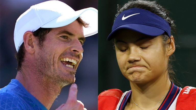 Andy Murray expects Emma Raducanu to deal with the expectations and disappointment that come her way