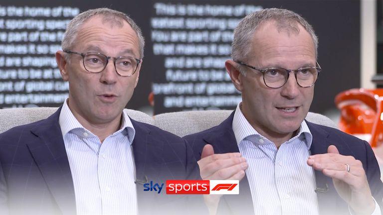 Assista à entrevista completa com o chefe da Fórmula 1 Stefano Domenicali enquanto ele fala com Craig Slater da Sky Sports News sobre o calendário da F1, o futuro do esporte, Lewis Hamilton x Max Verstappen e muito mais.