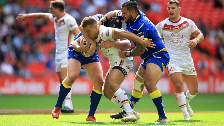 Mickael Goudemand helped Catalans to victory over Warrington in the 2018 Challenge Cup final