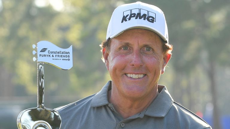 Phil Mickelson has won three of his first four events on the PGA Tour Champions