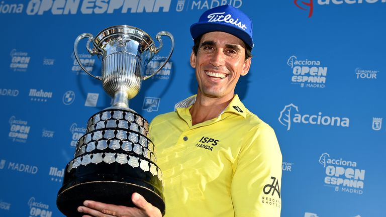 Rafa Cabrera Bello won the Open de Espana in a play-off