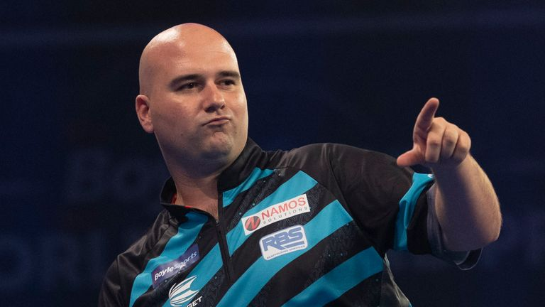 Rob Cross showed the kind of form which helped him secure the 2018 world title