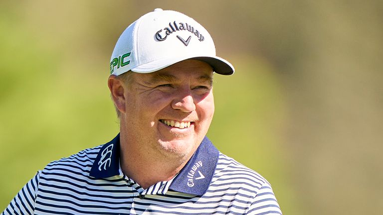 McGowan carded eight birdies and an eagle in his course record